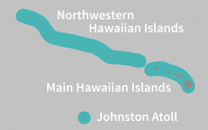 Distributed Range of Hawaiian-Monk