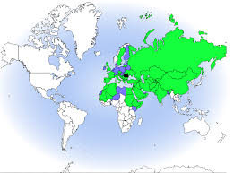 The geographical range of Griffon vulture